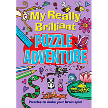 Buy My Really Brilliant Puzzle Adventure Book Online at johnlewis.com