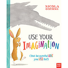 Buy Use Your Imagination Story Book Online at johnlewis.com