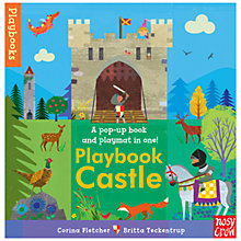 Buy Playbook Castle Pop-Up Play Book Online at johnlewis.com