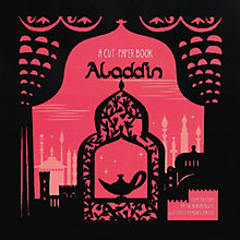 Buy Aladdin Cut-Paper Book Online at johnlewis.com