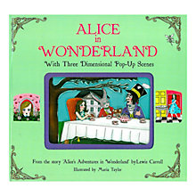 Buy Alice In Wonderland Pop-Up Book Online at johnlewis.com
