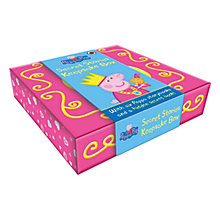 Buy Peppa Pig Secret Stories Keepsake Box & Books Online at johnlewis.com