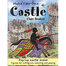 Buy Make Your Own Castle Pop-Up Story Book Online at johnlewis.com