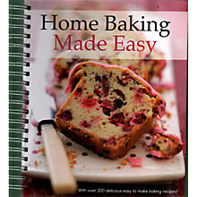 Buy Home Baking Made Easy Book Online at johnlewis.com