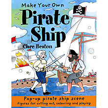 Buy Make Your Own Pirate Ship Craft Set Online at johnlewis.com