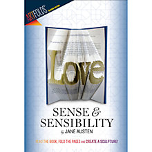 Buy ArtFolds Sense & Sensibility Book Online at johnlewis.com