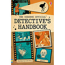 Buy The Usborne Official Detective's Handbook Online at johnlewis.com
