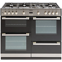 Buy Belling DB4 100G Gas Range Cooker, Stainless Steel Online at johnlewis.com