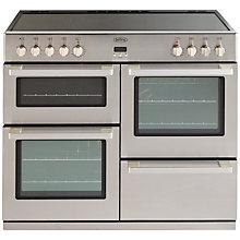 Buy Belling DB4 100E Professional Electric Range Cooker, Stainless Steel Online at johnlewis.com
