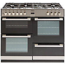 Buy Belling DB4 100DF Dual Fuel Range Cooker Online at johnlewis.com