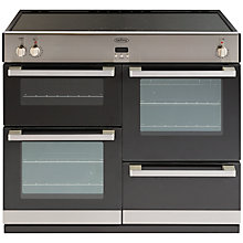 Buy Belling DB4 100Ei Induction Hob Range Cooker, Stainless Steel Online at johnlewis.com