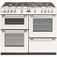 Buy Belling DB4 100G Gas Range Cooker, White Online at johnlewis.com