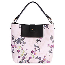 Buy Oasis Holly Shadow Floral Hobo Bag, Multi Online at johnlewis.com