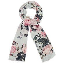 Buy Phase Eight Botanical Rose Scarf, Multi Online at johnlewis.com