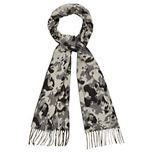 Buy Viyella Cashmink Animal Scarf, Grey Online at johnlewis.com