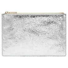 Buy Whistles Small Cracked Clutch Online at johnlewis.com