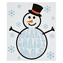 Buy Portfolio Frosty the Snowman Christmas Card Online at johnlewis.com