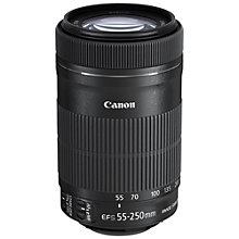 Buy Canon EF-S 55-250mm f/4-5.6 IS STM Telephoto Zoom Lens Online at johnlewis.com