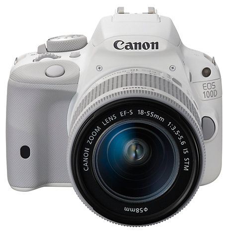 buy canon eos 100d digital slr camera with 18 55mm is stm. Black Bedroom Furniture Sets. Home Design Ideas