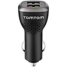 Buy TomTom Universal High-Speed Dual Car Charger Online at johnlewis.com