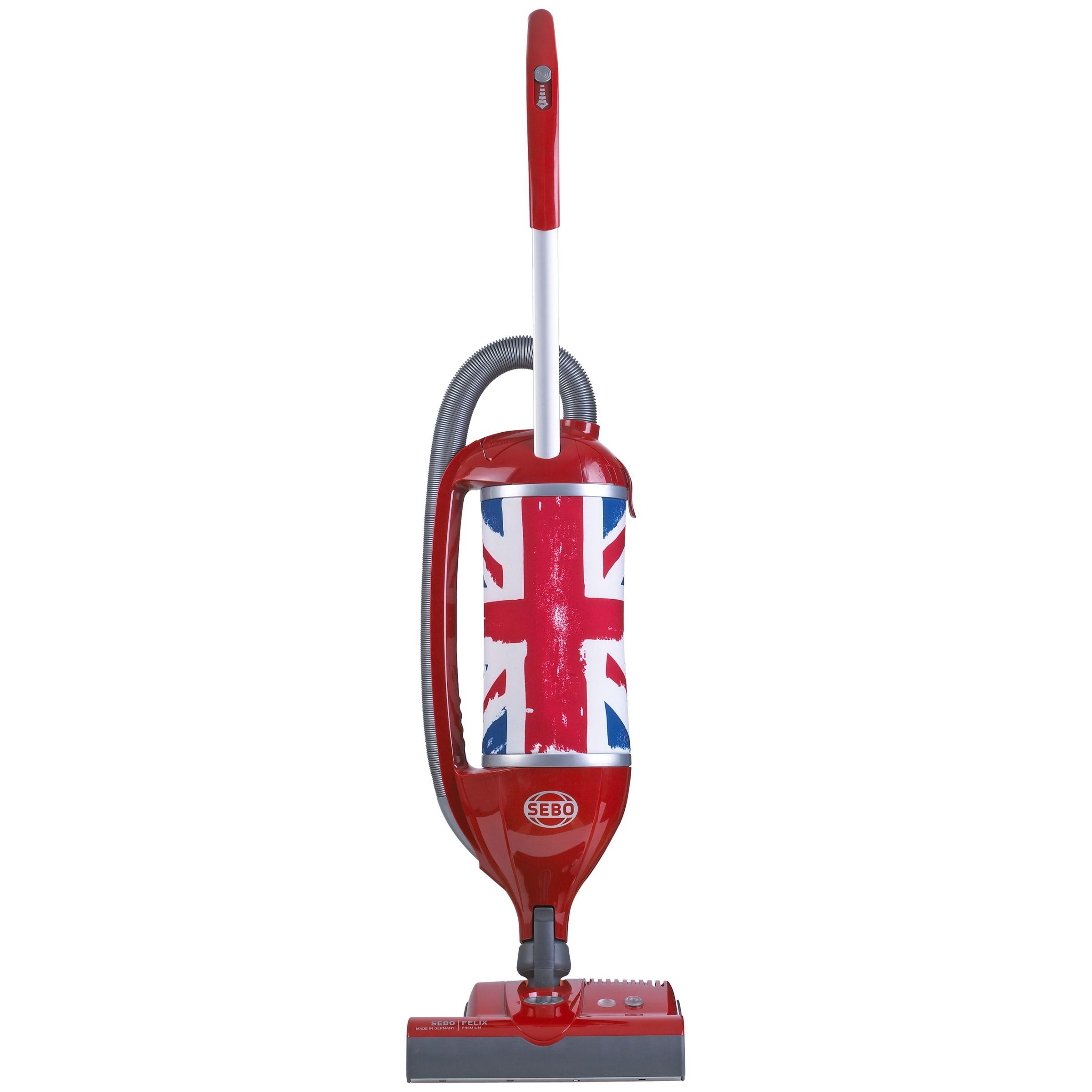 Sebo Sebo Felix Royale Upright Vacuum Cleaner, Red