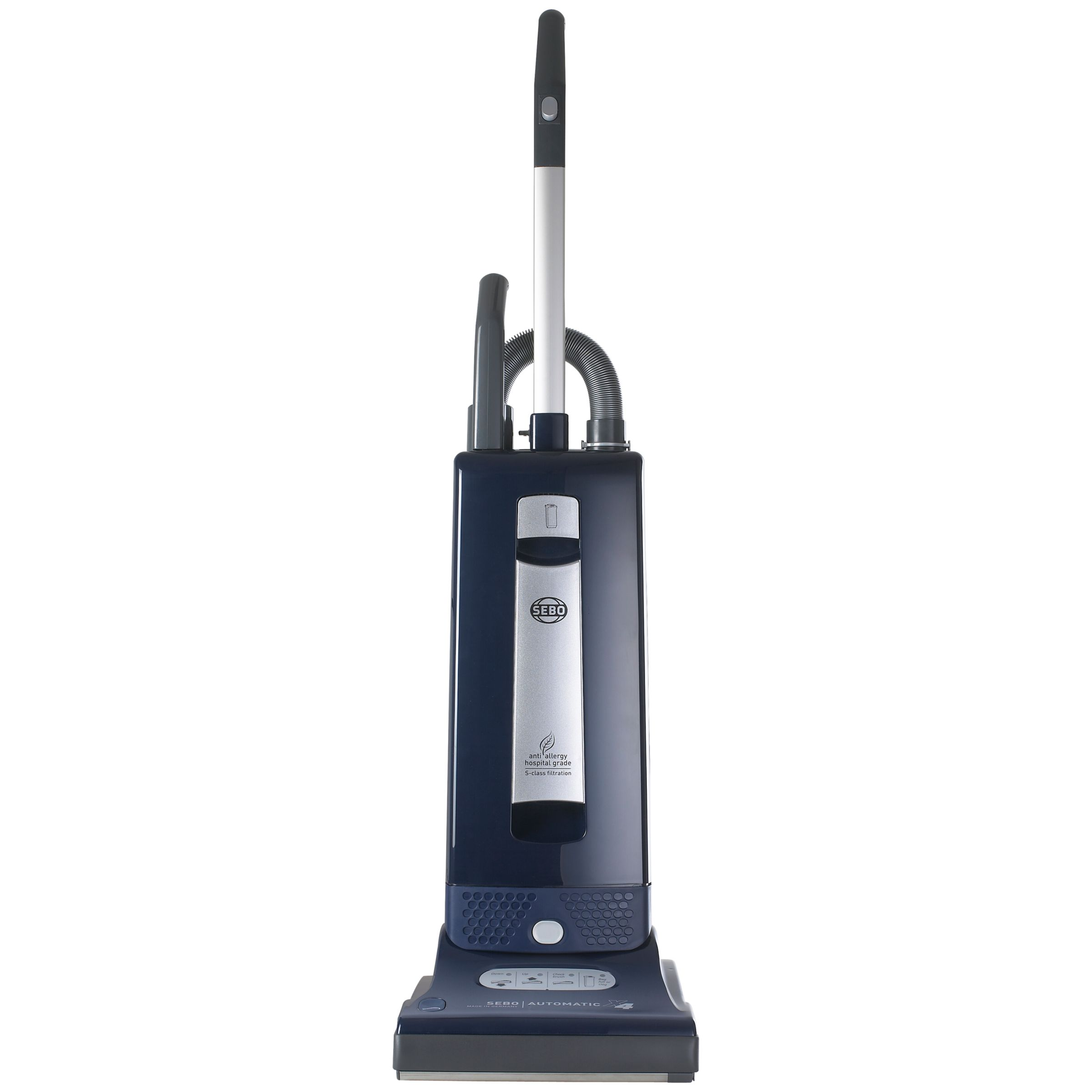 Sebo Sebo X4 Automatic Excel Eco Upright Vacuum Cleaner, Blue