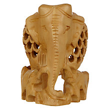 Buy John Lewis Cut-Out Elephant Ornament Online at johnlewis.com