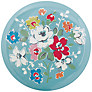 Cath Kidston Clifton Rose Pocket Mirror