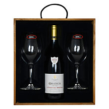 Buy Oraison Wine and Riedel 2 Glasses Boxed Set, 75cl Online at johnlewis.com