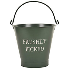 Buy Garden Trading Freshly Picked Flower Bucket Online at johnlewis.com