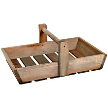 Buy Garden Trading Colworth Flower Trug, Natural Online at johnlewis.com