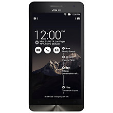"Buy Asus ZenFone 6 Smartphone, Intel Atom, Android, 6"", 16GB, SIM Free Online at johnlewis.com"