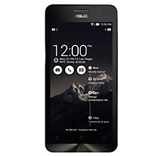 "Buy Asus ZenFone 5 Smartphone, Intel Atom, Android, 5"", 8GB, SIM Free Online at johnlewis.com"