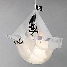 Buy little home at John Lewis Pirate Pendant Shade Online at johnlewis.com