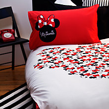 Buy Minnie Mouse Duvet Set, Single Online at johnlewis.com