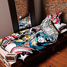Buy Marvel Duvet Set, Single Online at johnlewis.com