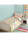 little home at John Lewis Birds & Buttons Single Duvet Cover and Pillowcase Set