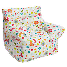 Buy little home at John Lewis Birds & Buttons Bean Bag Chair Online at johnlewis.com