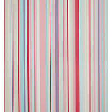 Buy little home at John Lewis Harrison Stripe Wallpaper, Pink/Purple Online at johnlewis.com