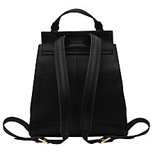 Buy Reiss Alto Quilted Leather Rucksack, Black Online at johnlewis.com