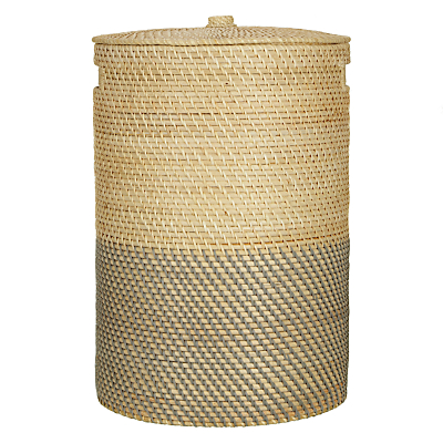 John Lewis Two Tone Laundry Basket