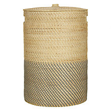 Buy John Lewis Two Tone Laundry Basket Online at johnlewis.com
