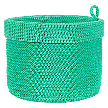 Buy House by John Lewis Bathroom Storage Basket, Mint Online at johnlewis.com