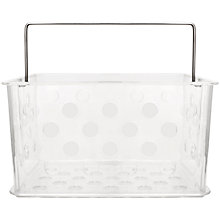 Buy Bliss Plastic Storage Basket, Small Online at johnlewis.com