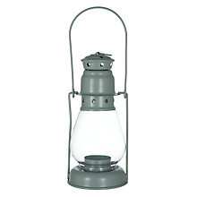 Buy John Lewis Croft Collection Lantern, Sage Online at johnlewis.com