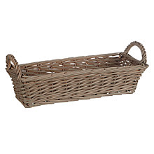 Buy John Lewis Croft Collection Woven Bread Basket Online at johnlewis.com