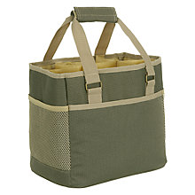 Buy John Lewis Croft Collection Bottle Carrier Coolbag, 6 Bottles Online at johnlewis.com