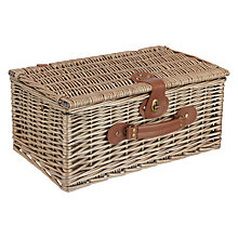 Buy John Lewis Croft Collection Picnic Hamper, 2 Person Online at johnlewis.com