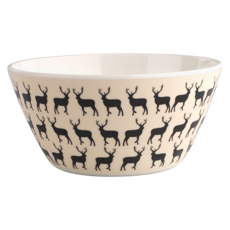 Anorak Kissing Stags Bowl