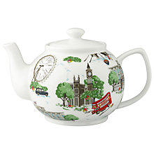 Buy Cath Kidston London Teapot, 1.5L Online at johnlewis.com